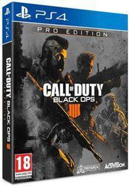 Call of Duty: Black Ops 4 - Pro Edition - PS4 - Activision