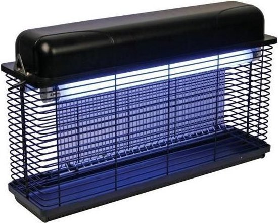 Perel elektrische insectenverdelger 2 x 15 watt vliegenlamp 100 m2 IPX4