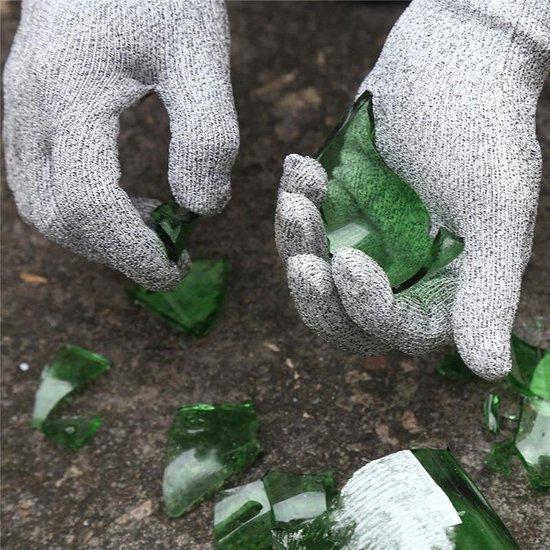 Oestermes Set met Snijbestendige Handschoenen - Veilig Oesters Openen - Snijwerende Handschoenen - Keuken Accessoires - Bruin | Lobster Family