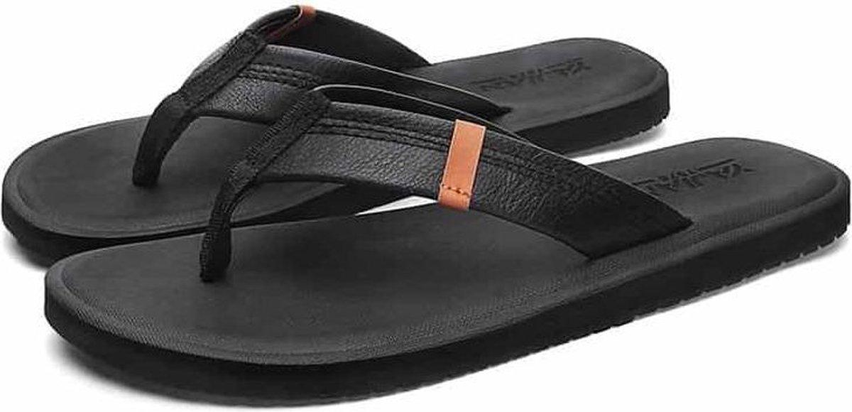 Trend Personality Antislip Pinch Beach-slippers voor heren (kleur: zwart, maat: 39)