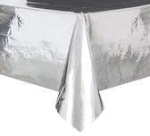 Unique Tafelkleed Folie Zilver 137 X 274 Cm