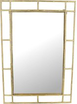 SVJ Home Decorations Speculum Spiegel - 69,5 x 3 x 99 cm - Metaal - Goud