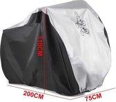 Eljardin - Fietshoes voor 2 fietsen   Alle weersinvloeden   200 x 75 x 100 cm