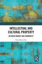 Omslag Intellectual and Cultural Property