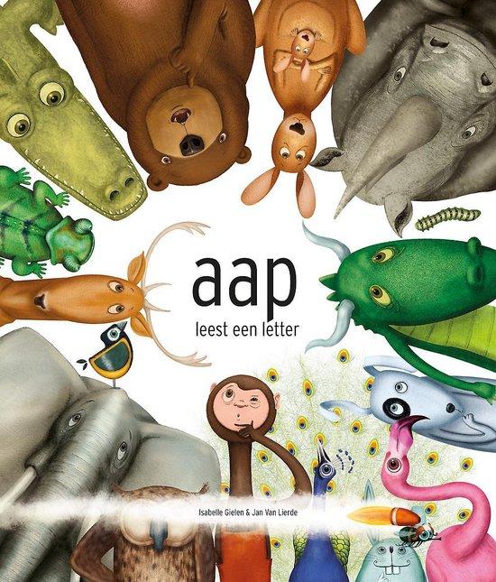 bol.com | Aap leest een letter, Isabelle Gielen | 9789059247826 | Boeken