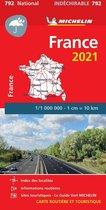 France 2021 - High Resistance National Map 792