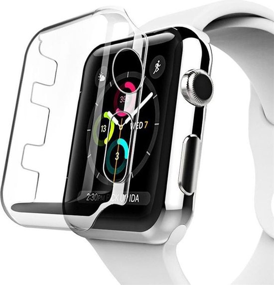 38mm Case Cover Screen Protector Transparent 4H Protected Knocks Watch Cases voor Apple watch voor iwatch 3 Watchbands-shop.nl