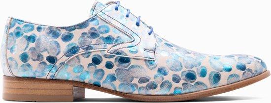 Paulo Bellini Dress Shoe Sondrio Blue/White