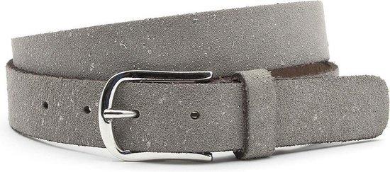 Dames ceintuur grijs met zilver