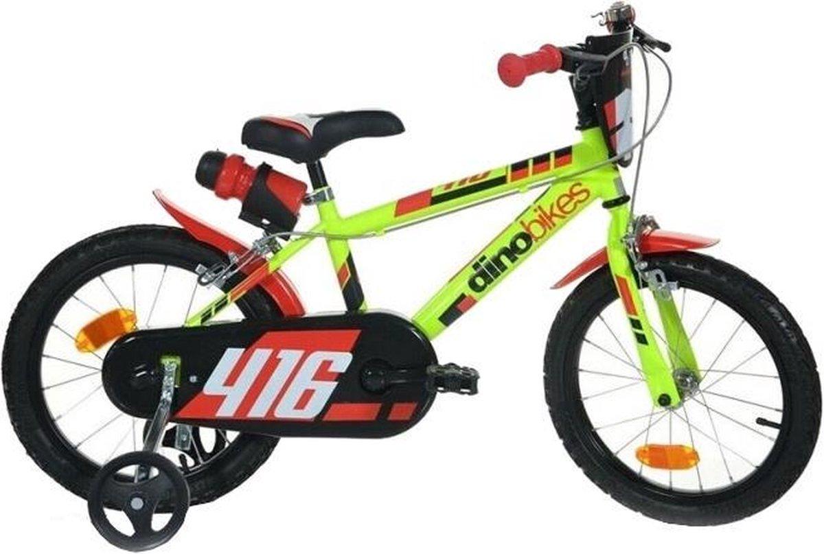 Dino Bikes Dino Sfera Kinderfiets Mannen Lichtgroen 16 online kopen
