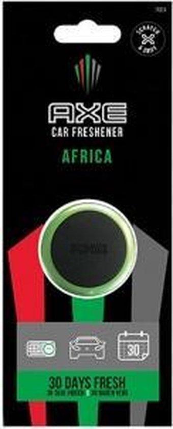 Axe Luchtverfrisser Mini Vent - Africa 3 Cm Zwart/groen