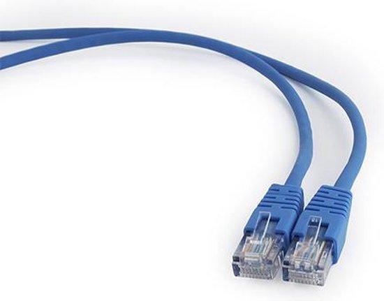Internetkabel - 2.85 Meter - Blauw - CAT5E Ethernet Kabel - RJ45 UTP Kabel Met Snelheid Van 1000Mbps - Netwerk Kabel Van Hoge Kwaliteit