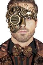 Masker steampunk goud