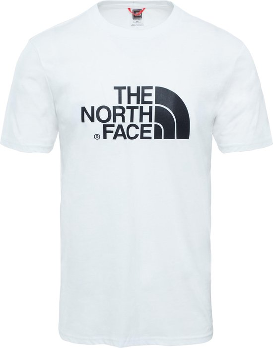 The North Face S/s Easy Tee - Eu Outdoorshirt Heren - TNF White - Maat XL