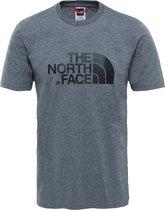 The North Face S/s Easy Tee - Eu Outdoorshirt Heren - TNF Medium Grey Heather (Std)