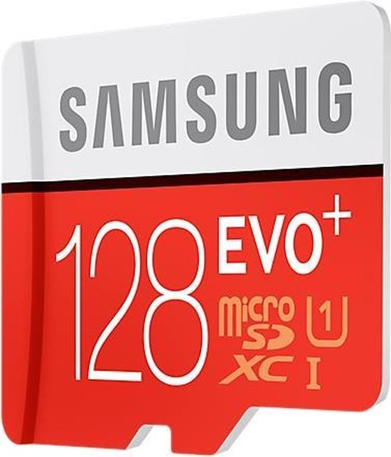 Samsung Evo Plus MicroSDXC 128GB - met adapter