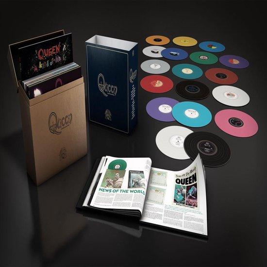 CD cover van Queen Studio Collection (Boxset Coloured Vinyl) (18LP) van Queen