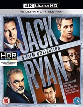 Jack Ryan: 5 Film Collection (4K UHD + Blu-ray) (Import)