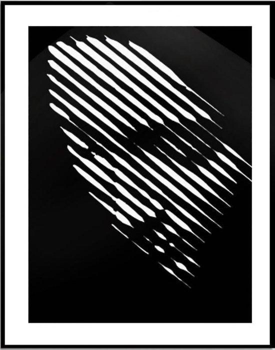 Verwonderend bol.com   Canvas Schilderij * Abstract Zwart-Wit Vrouwengezicht BO-86