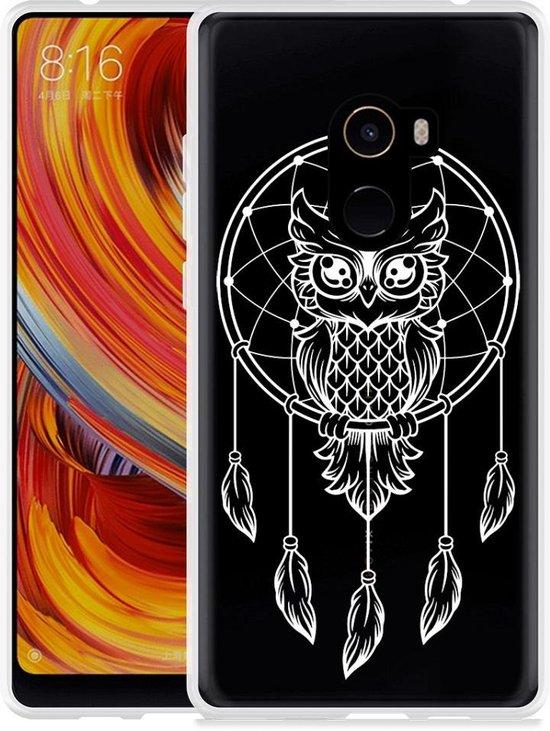 Xiaomi Mi Mix 2 Hoesje Dream Owl Mandala White