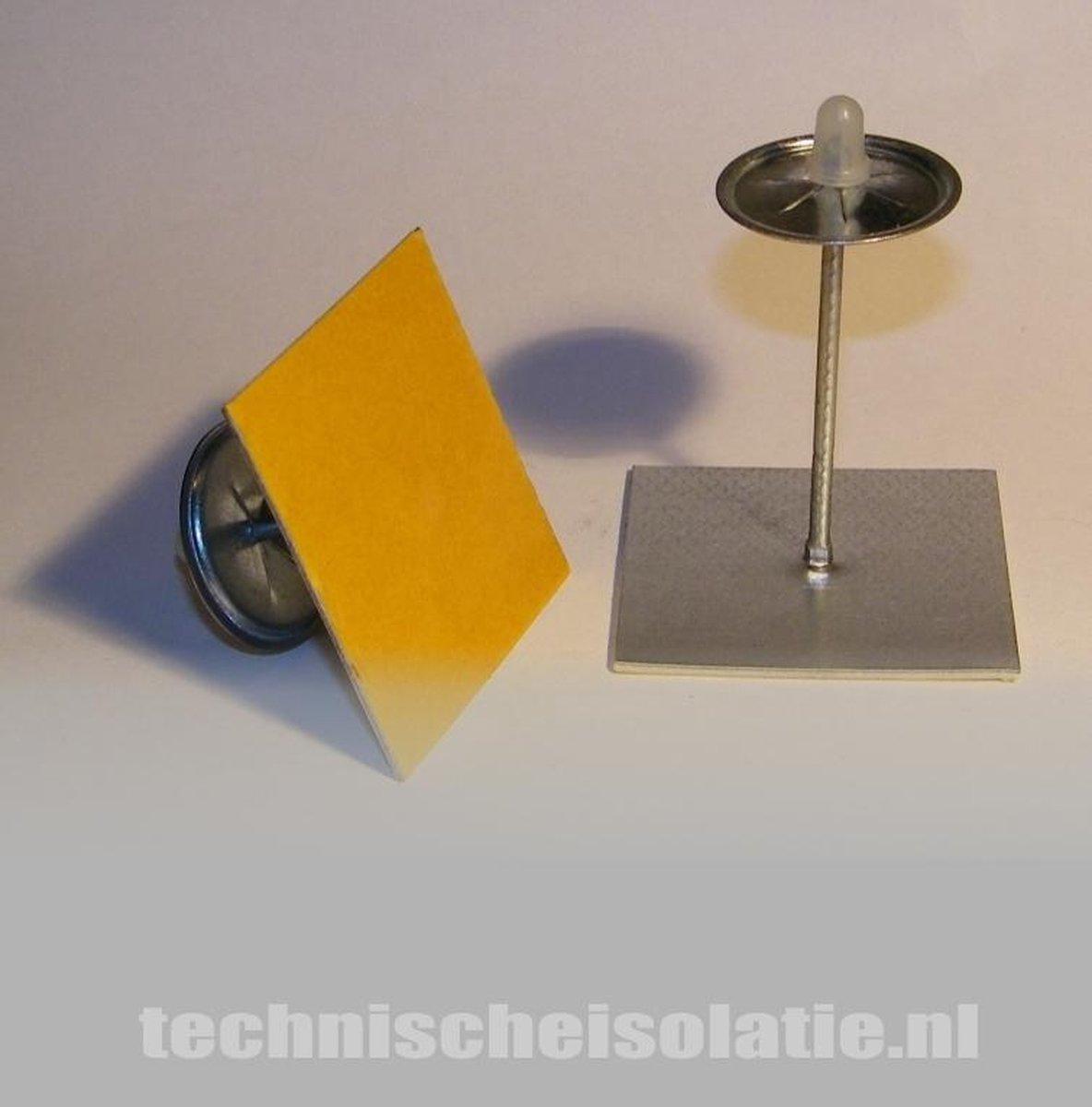 Zelfklevende isolatie plakpennen 53mm - Novaplus