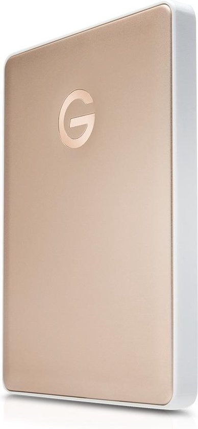 G-Technology mobile USB-C externe harde schijf 2TB - Goud