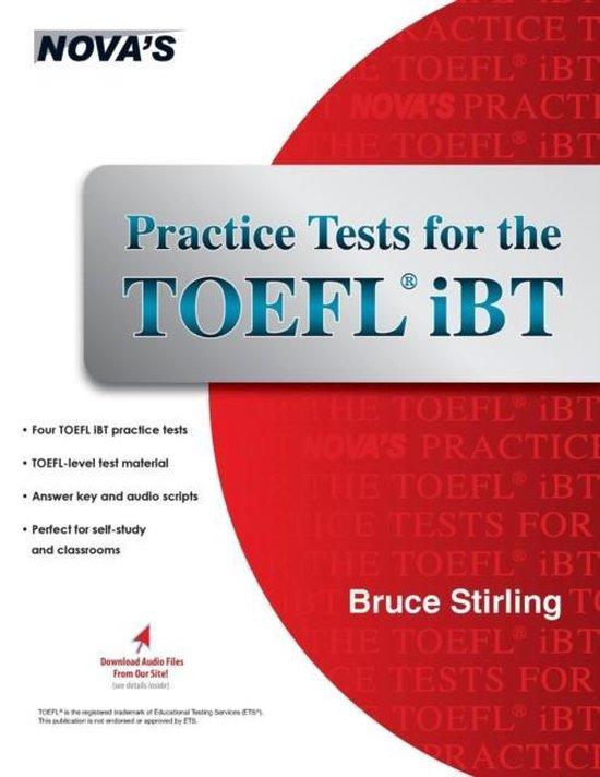 Boek cover Practice Tests for the TOEFL IBT van Bruce Stirling