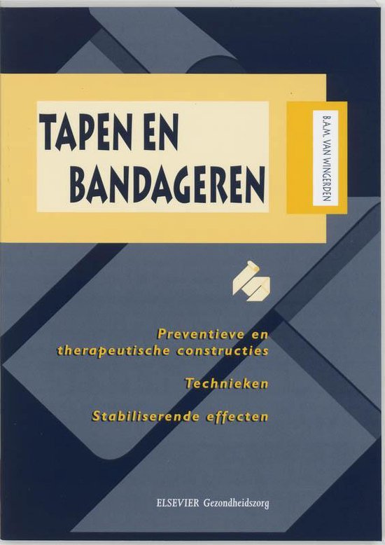 Tapen en bandageren - B.A.M. van Wingerden pdf epub
