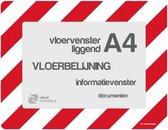 Vloervensters A4 (Rood-Wit)
