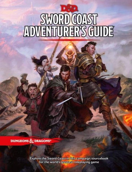 Dungeons & Dragons - Role Play - 5th Edition Sword Coast Adventurer's Guide (D&D)