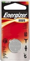 Energizer CR2025 Lithium 3V niet-oplaadbare batterij