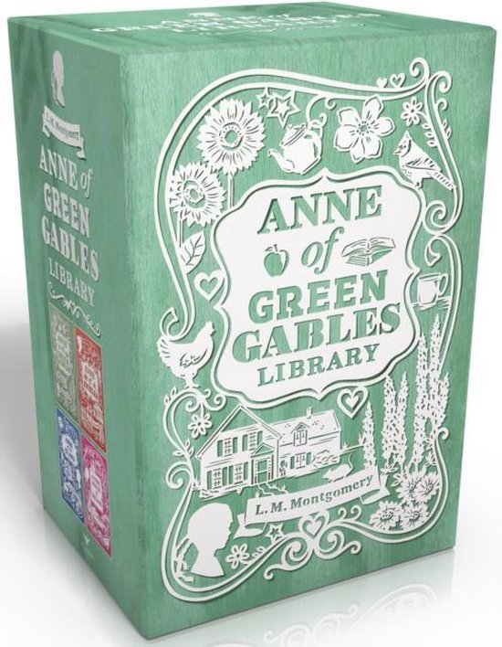 Boek cover Anne of Green Gables Library van L. M. Montgomery (Boxed Set)