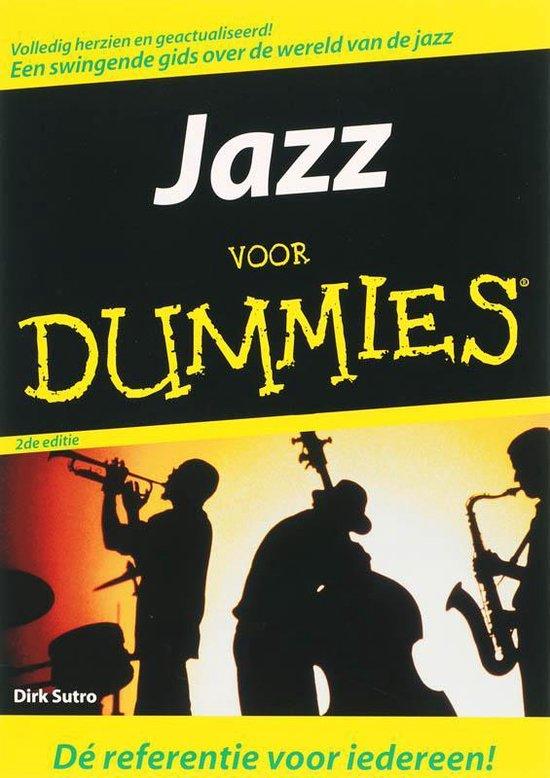Cover van het boek 'Jazz voor Dummies'