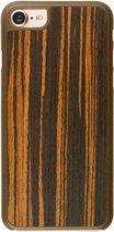 Imoshion Houtprint Ultra Thin Hardcase iPhone 7/8/SE 2020 - Bog Oak