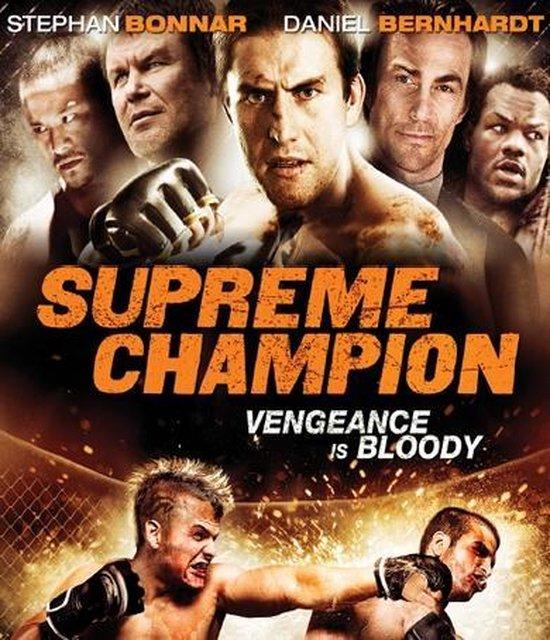Cover van de film 'Supreme Champion'
