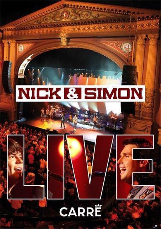 CD cover van Live In Carre van Nick & Simon