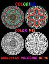 coloring, Color Me! Mandalas Coloring Book
