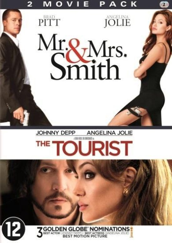 Cover van de film 'Touris + Mr&Mrs Smith'