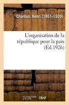 L'organisation de la republique pour la paix