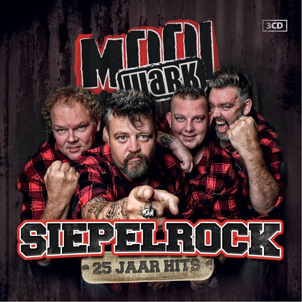 Siepelrock - 25 Jaar Hits - 3Cd - Mooi Wark