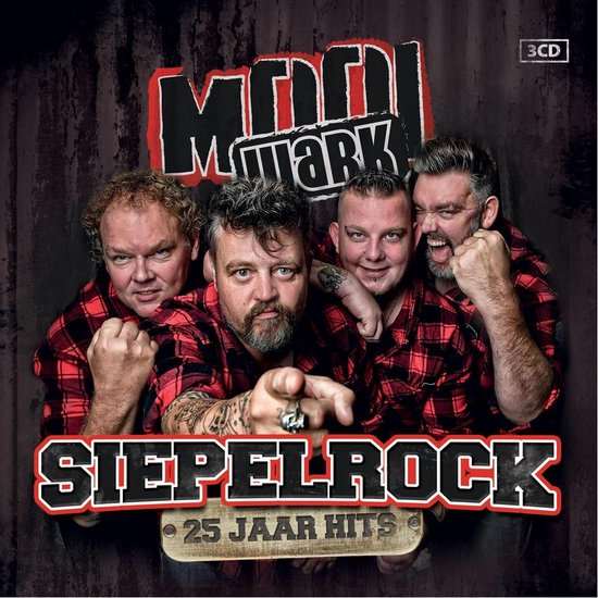 Siepelrock - 25 Jaar Hits - 3Cd