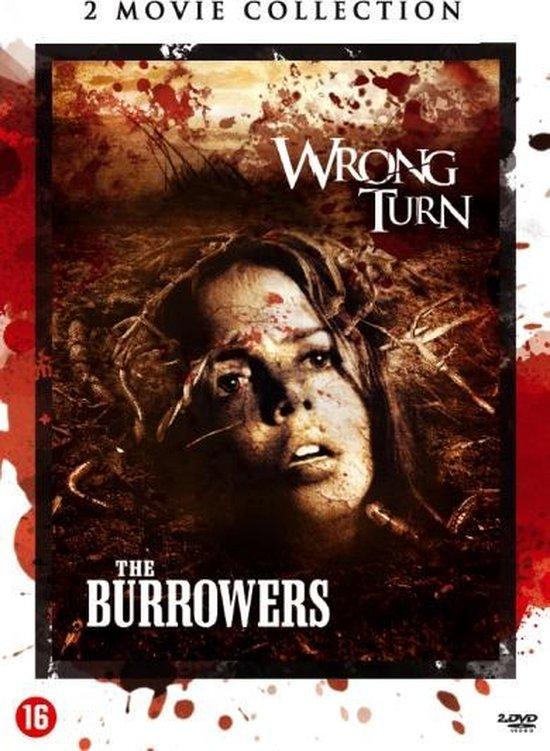 Cover van de film 'Wrong Turn/Burrowers'