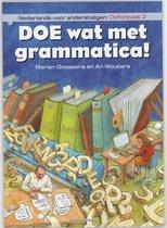 Afbeelding van Doe wat met grammatica! Nederlands voor anderstaligen Oefenboek 2
