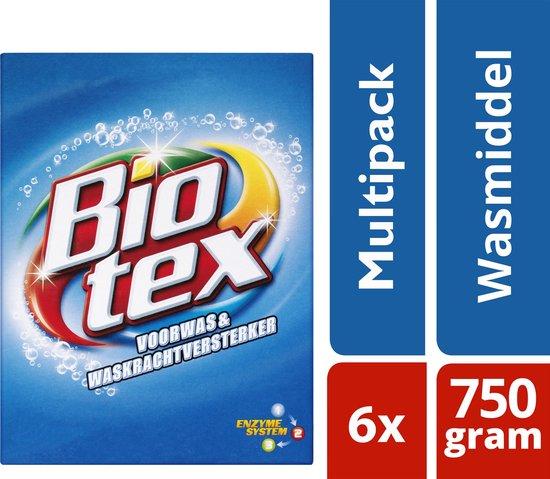 7x Biotex Blauw Voorwas 750 gr