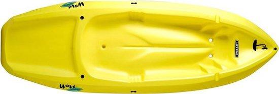 Kajak Lifetime Wave geel - 183 x 61 x 3,8 cm - Vanaf 5 jaar