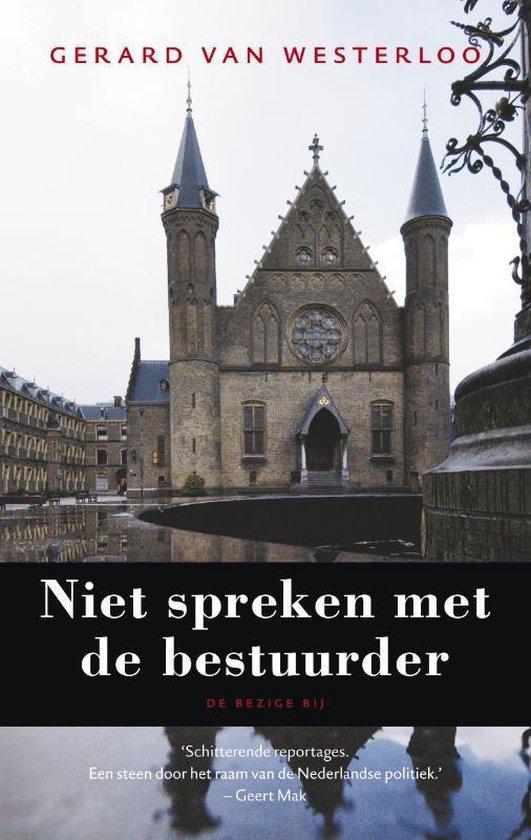Niet Spreken Met De Bestuurder - G. Van Westerloo  