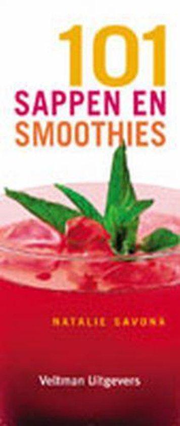 Cover van het boek '101 sappen en smoothies' van Natalie Savona