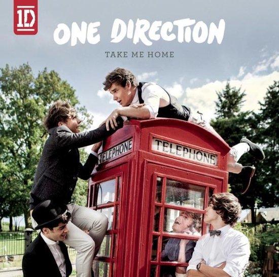 CD cover van Take Me Home van One Direction