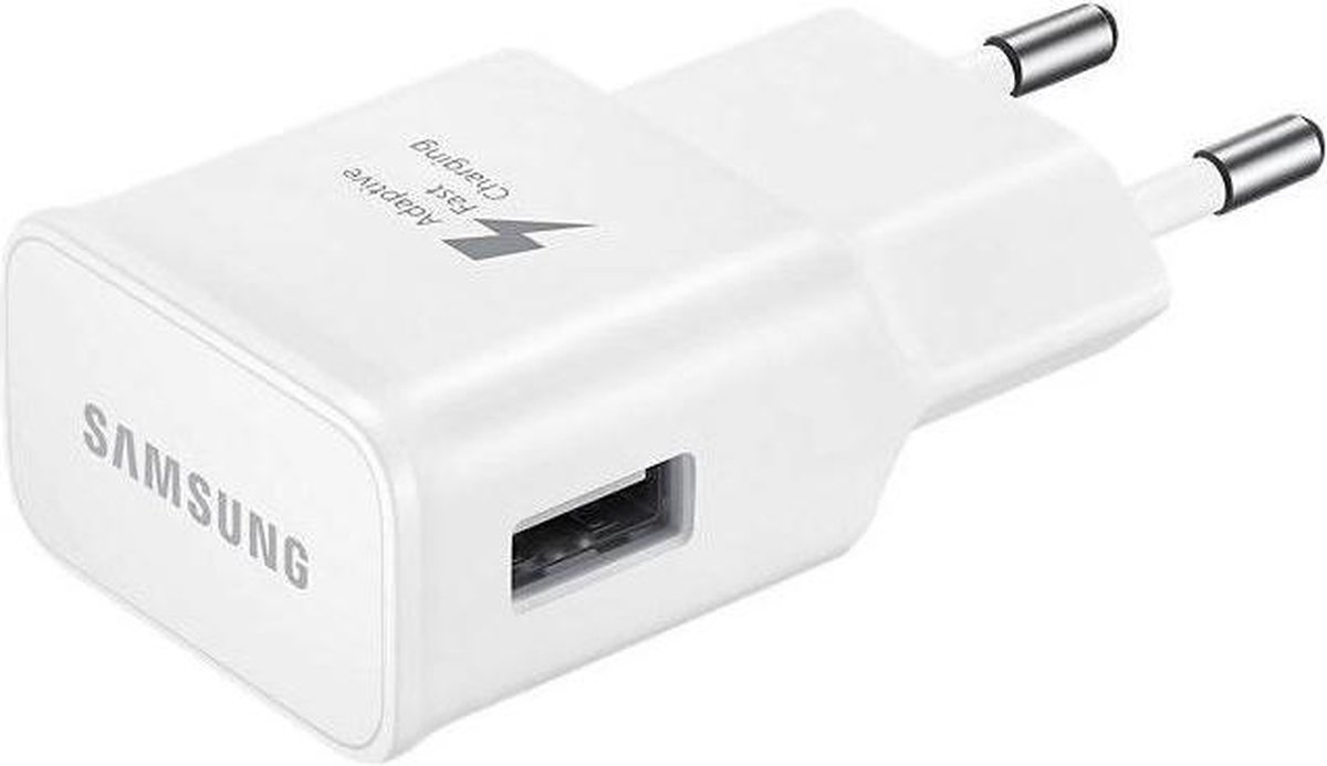 Bol Com Samsung Fast Charging Adapter 2a Micro Usb Kabel
