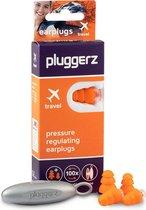 Pluggerz earplugs Travel - Oordoppen tijdens vliegen - Geen oorpijn - Drukregulerend filter